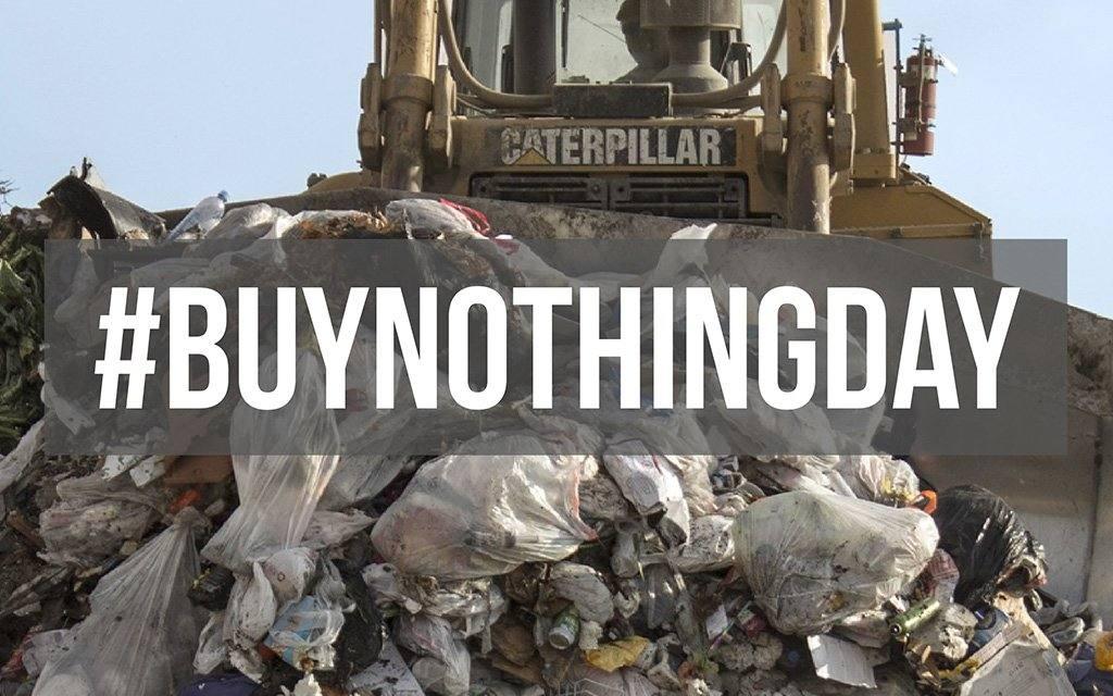 Historia del Día sin compras, un día para no comprar