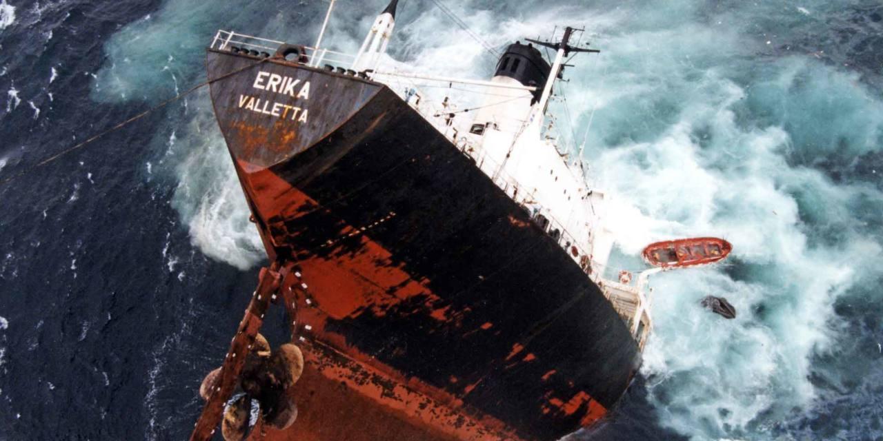 10 años del accidente del petrolero Erika