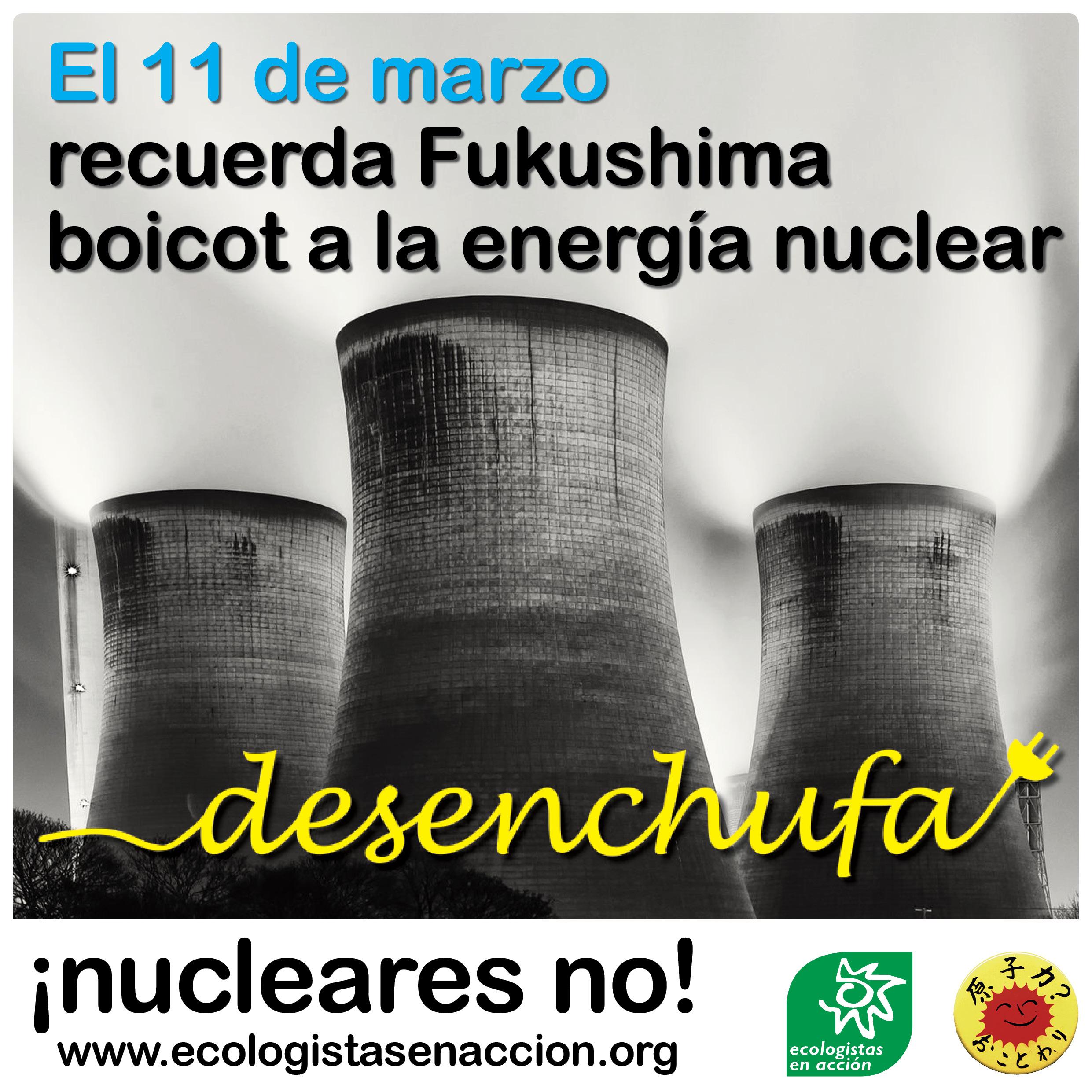 Recuerda Fukushima