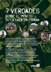 [Folleto] Siete verdades del impacto de la caza en España