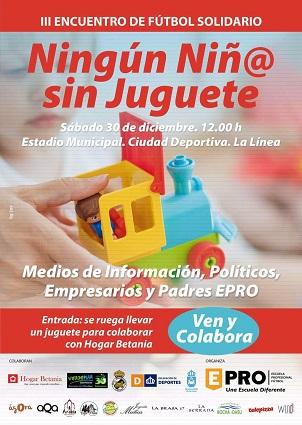 Nos unimos a la campaña Ningún niñ@ sin juguete