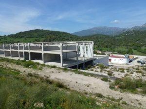 Polígono industrial ilegal en el PN Sierra de Grazalema