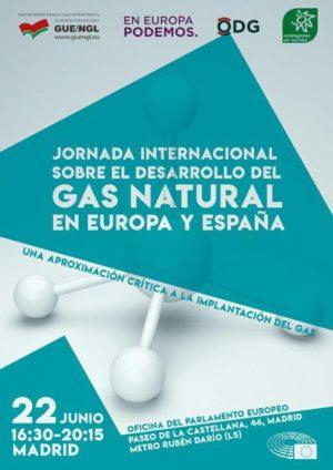 Madrid: Jornada internacional Desarrollo del gas natural en Europa y España