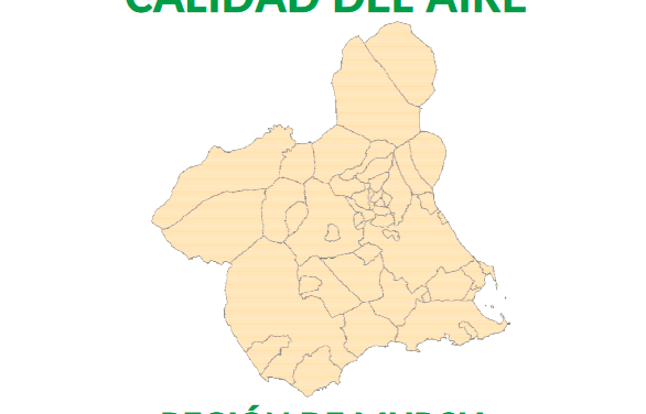 Informe sobre la Calidad del Aire de la Región de Murcia 2017