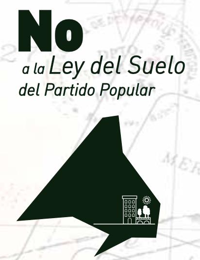 [Ciberacción] Otra Ley del Suelo es posible en la Comunidad de Madrid