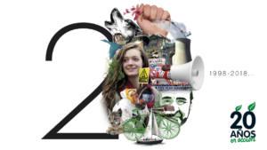 Presentación del 20 aniversario de Ecologistas en Acción