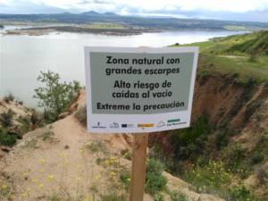 Riesgos para la seguridad de las personas en el Monumento Natural de Las Barrancas