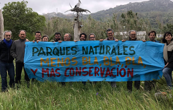 Los parques naturales no pueden convertirse en parques comerciales