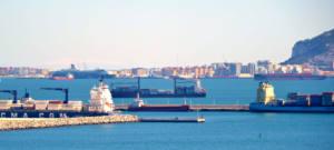 Se medirán las emisiones atmosféricas de los buques en el Estrecho de Gibraltar