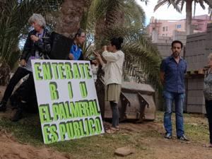 Denuncian las obras en el Palmeral de Maspalomas por la Cadena RIU
