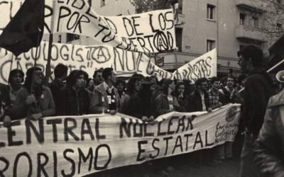 El movimiento antinuclear en España 1977-1990