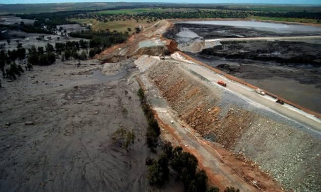 La rotura de la presa del Proyecto Riotinto podría provocar un vertido tóxico 10 veces superior a la catástrofe de Aznalcóllar de 1998