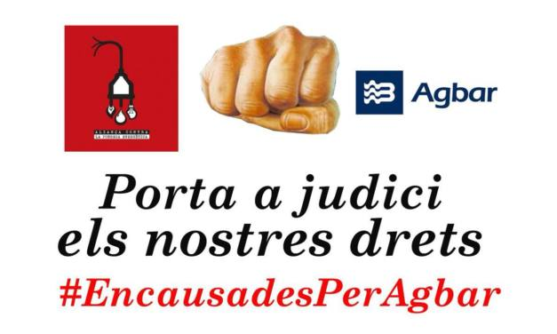 Agbar porta a judici l'Aliança contra la Pobresa Energètica