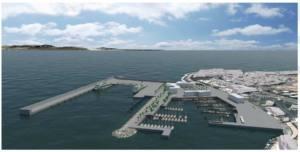 Denuncian la ampliación del Puerto de Playa Blanca ante la Unión Europea
