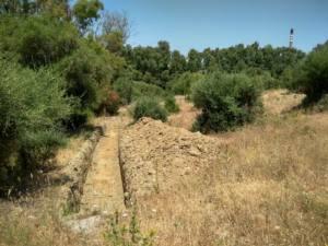 Maquinaria pesada realiza trabajos de excavación en tierras del Rocadillo