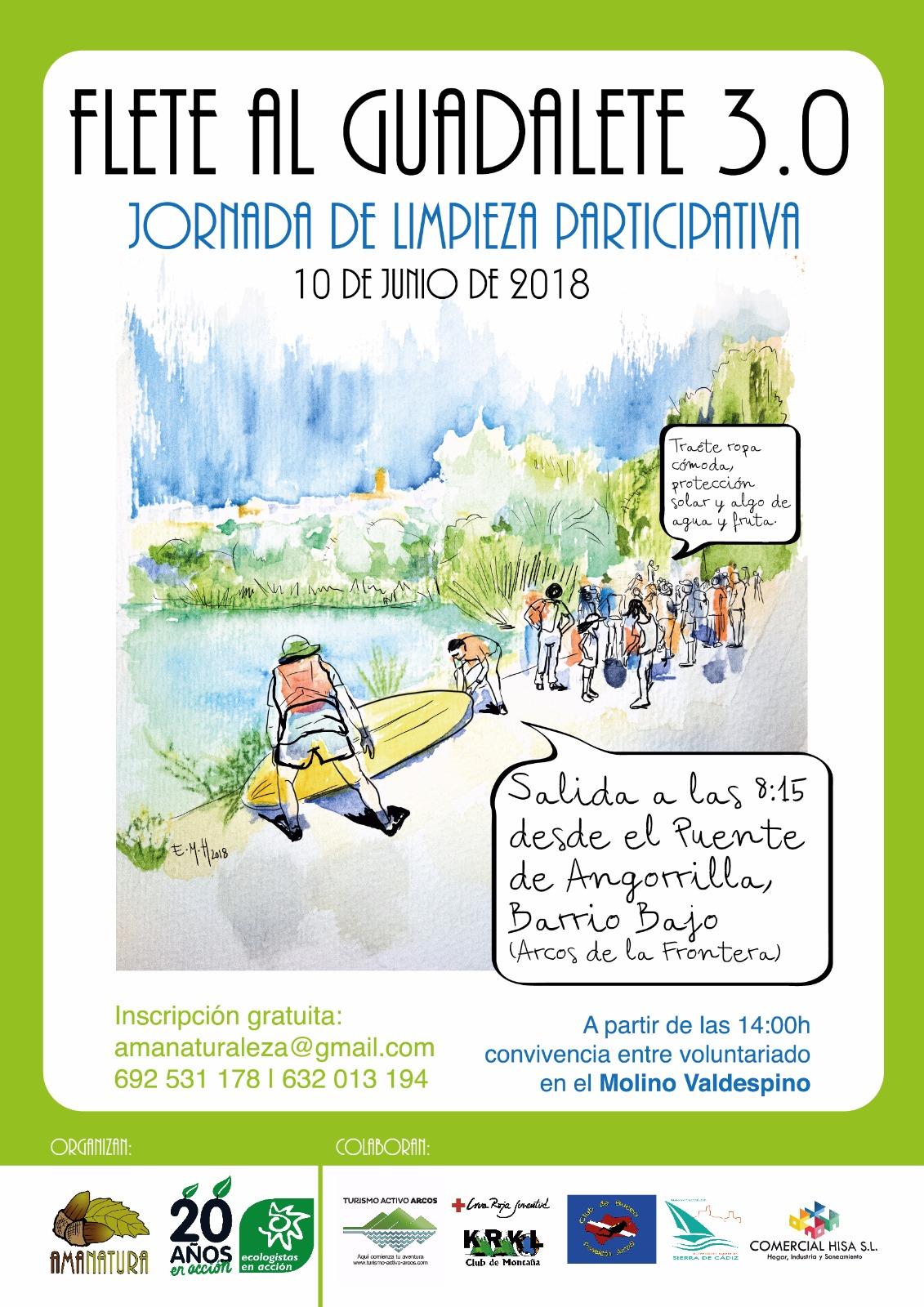 Arcos: Flete al Guadalete 3.0 • Ecologistas en Acción