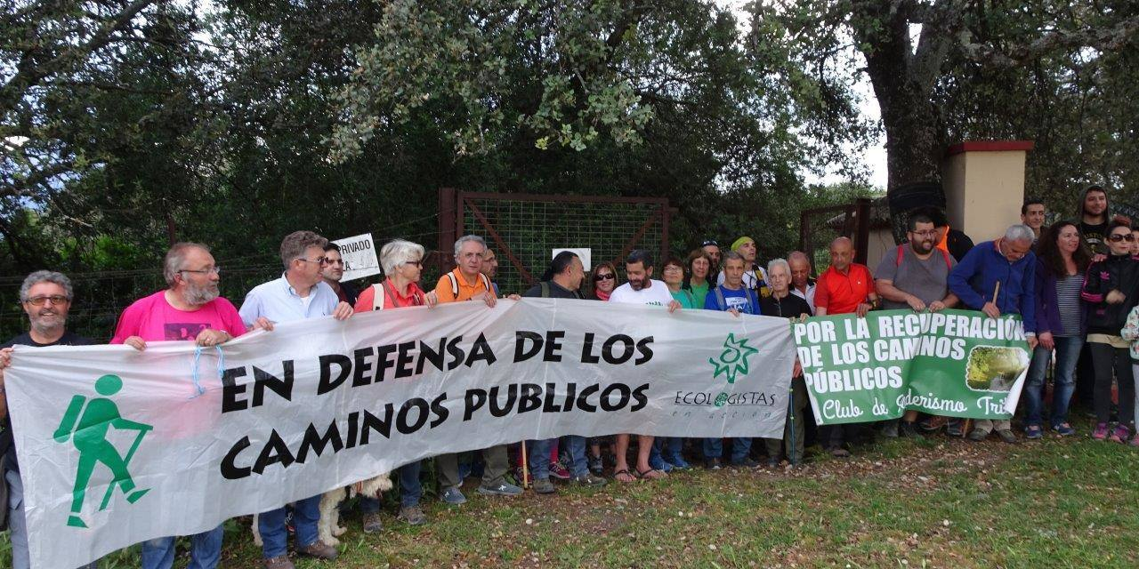 Celebrada la marcha por el Camino Alto Prado del Rey-El Bosque