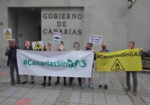 Rechazo a la introducción del gas natural en Canarias