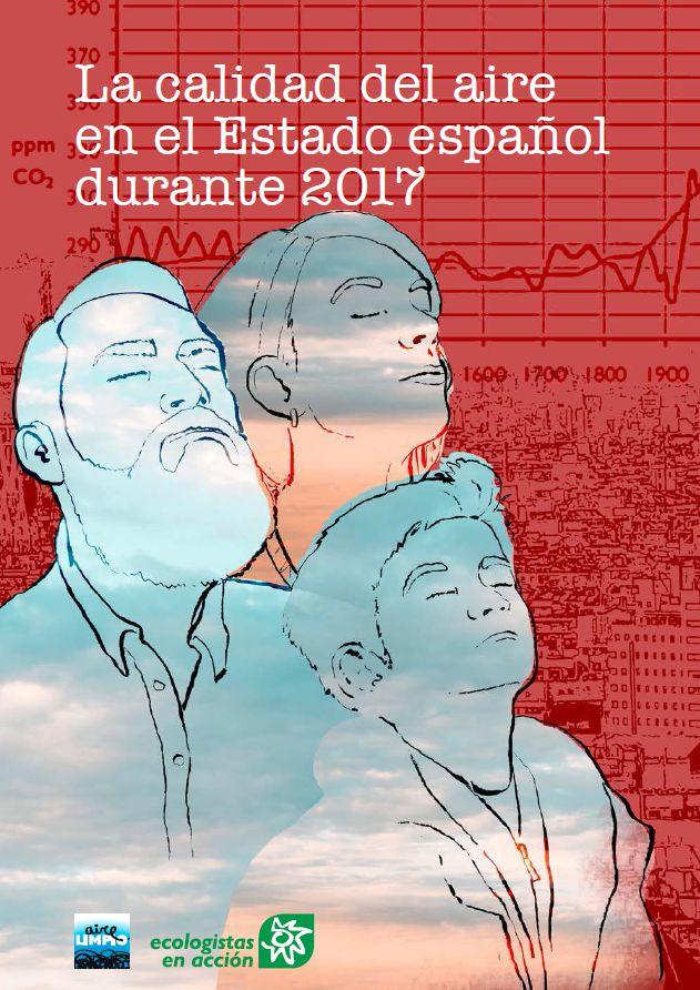 [Informe] La calidad del aire en el Estado español durante 2017