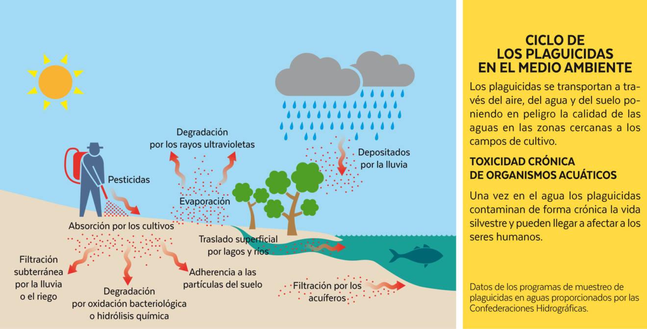 Informe sobre lo que contamina la agricultura, ríos, lagos, mares, aire y tierra.