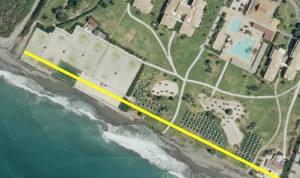 Secuestran la servidumbre de tránsito en Playa Granada