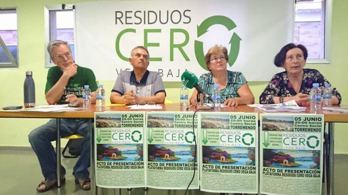 Se presenta la Plataforma Residuos Cero Vega Baja