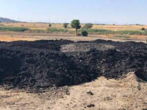 Cuatro años denunciando vertidos de toneladas de lodos en Pinto
