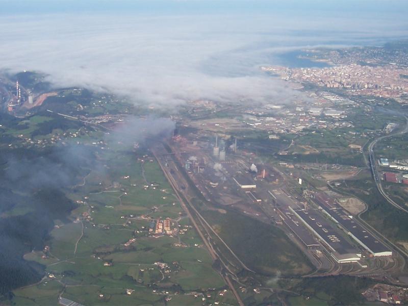 Piden una investigación sobre la situación ambiental del sector siderúrgico
