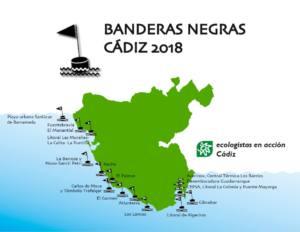 Banderas Negras Cádiz 2018