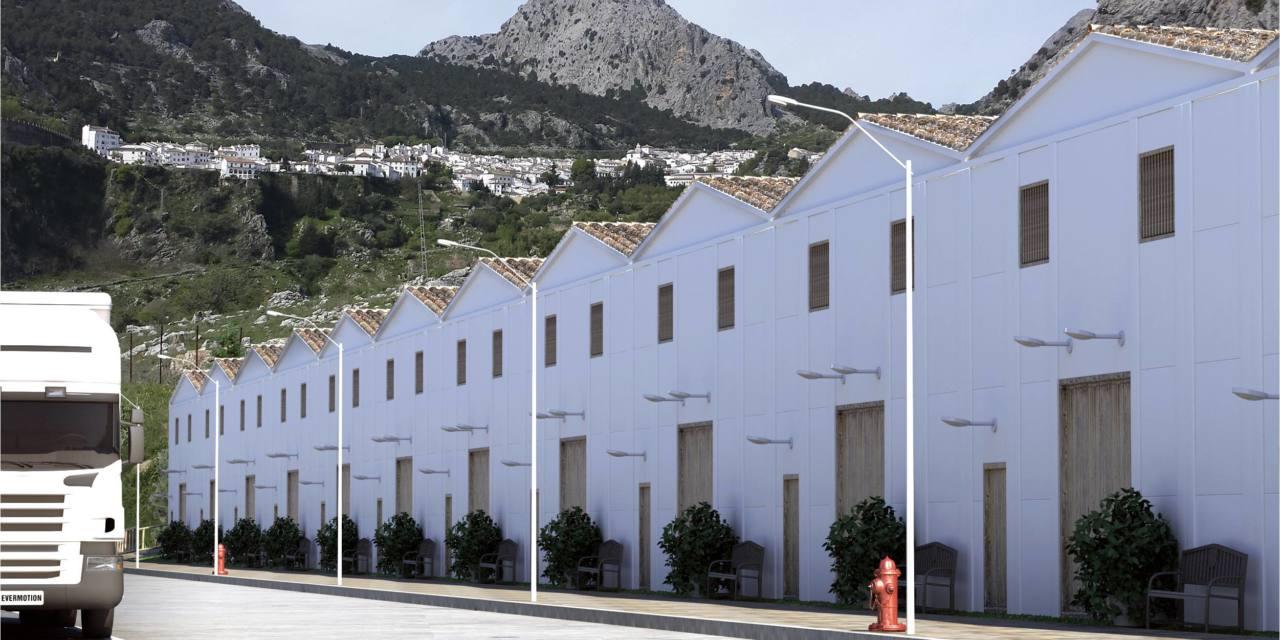 El Ayuntamiento de Grazalema rectifica y adaptará el polígono industrial a la tipología tradicional de los pueblos blancos