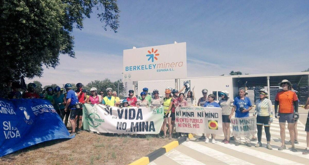 La Ecomarcha 2018 finaliza en Ciudad Rodrigo en apoyo a la lucha local contra la mina de uranio
