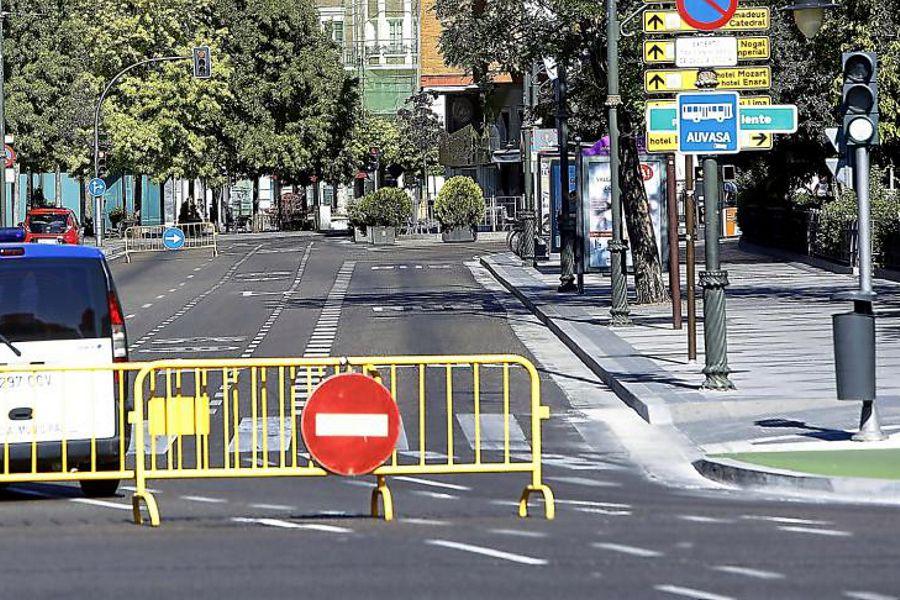 Continúa el episodio de contaminación por ozono en Valladolid