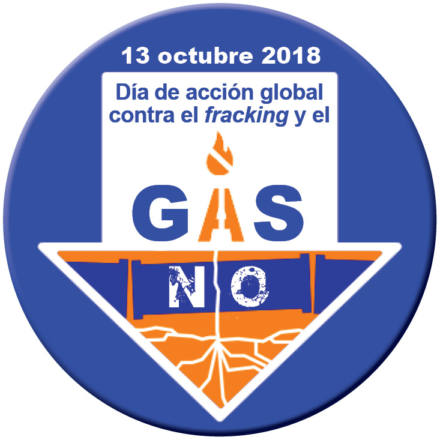 Contra el fracking y el gas