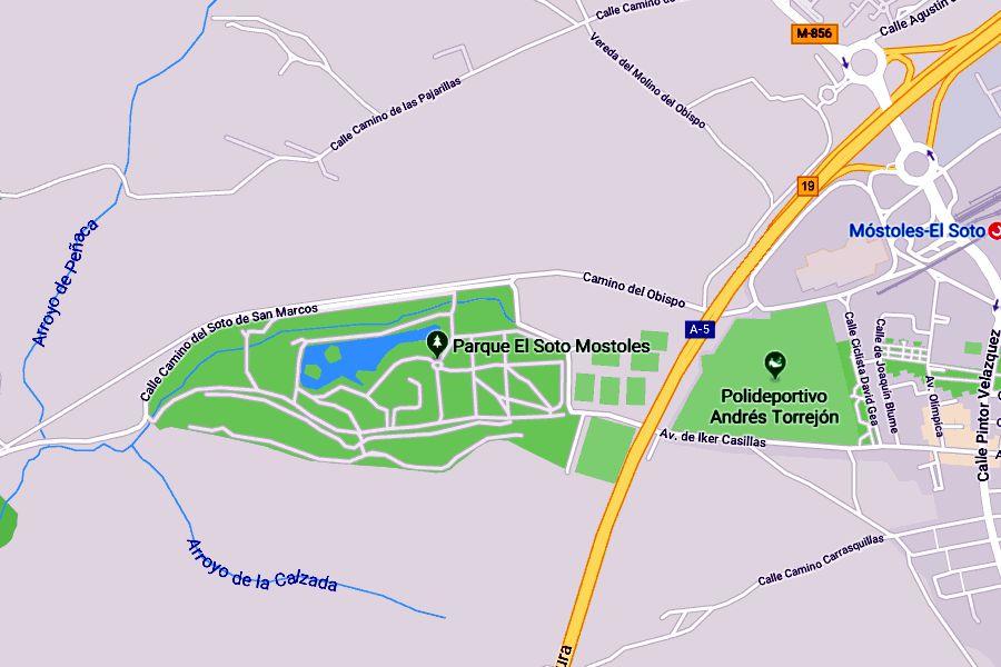El parque municipal El Soto en Móstoles vuelve a estar en peligro