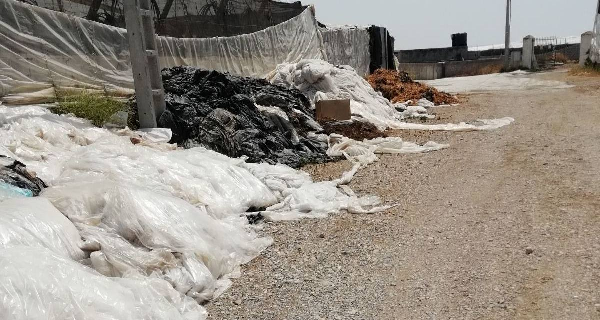 Vertidos incontrolados de residuos en zonas rurales de El Ejido