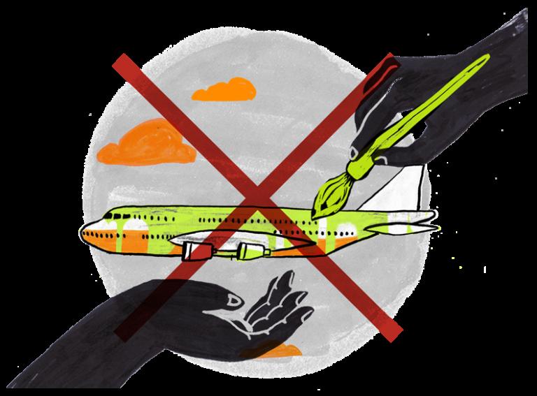 Se lanza la red internacional 'Stay Grounded' contra la expansión del tráfico aéreo