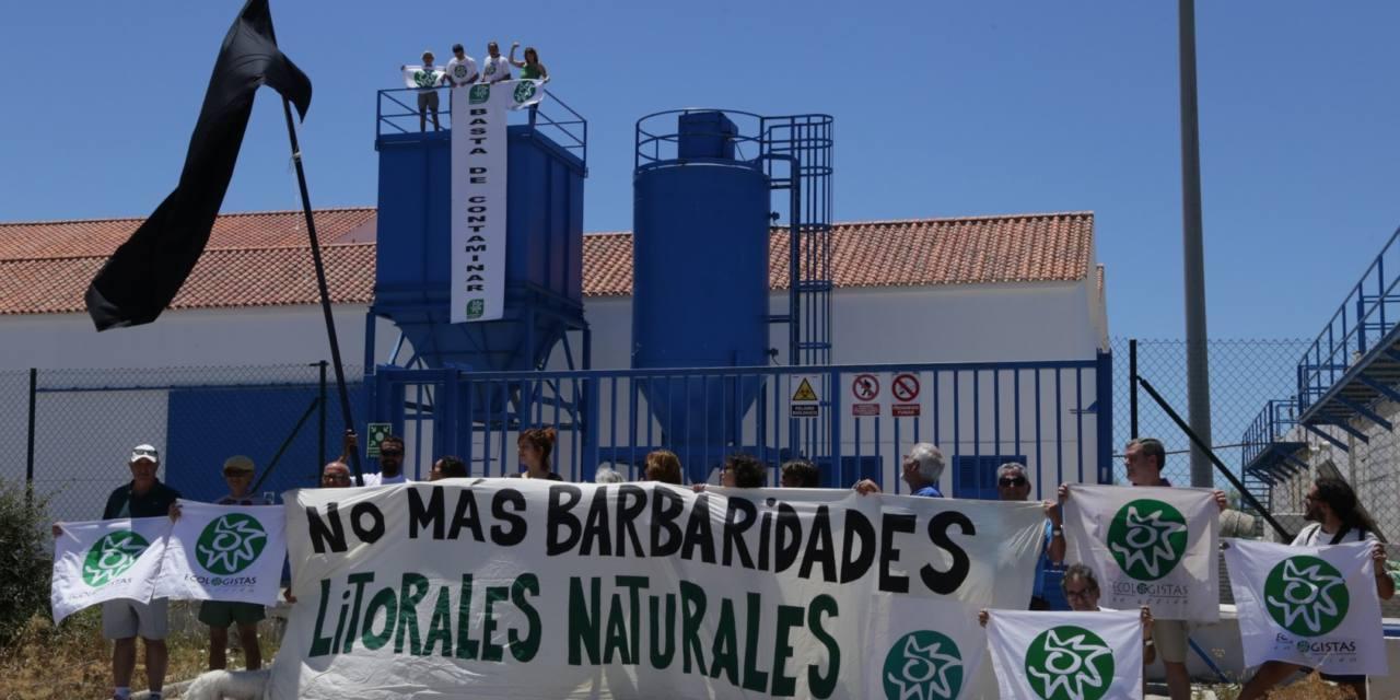 Aqualia miente: La EDAR de Barbate es la que peor funciona de la provincia