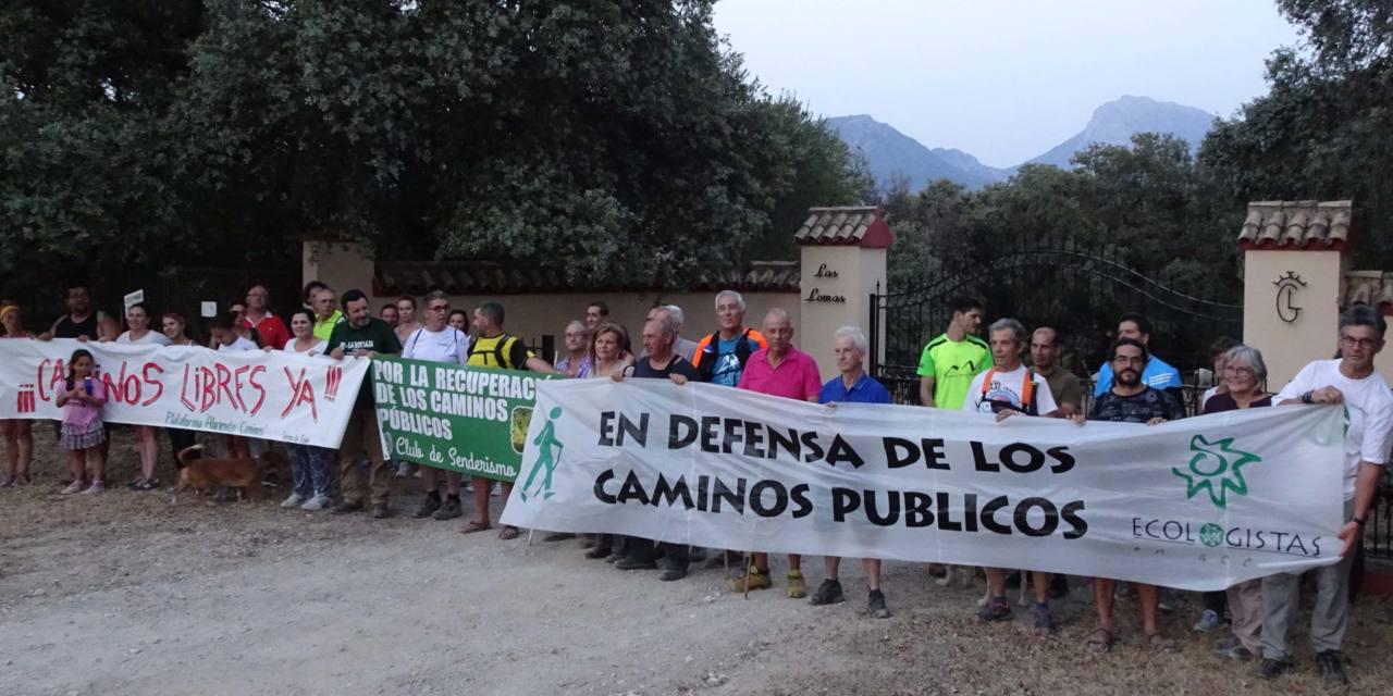 Marcha sin incidentes del camino público Prado a El Bosque