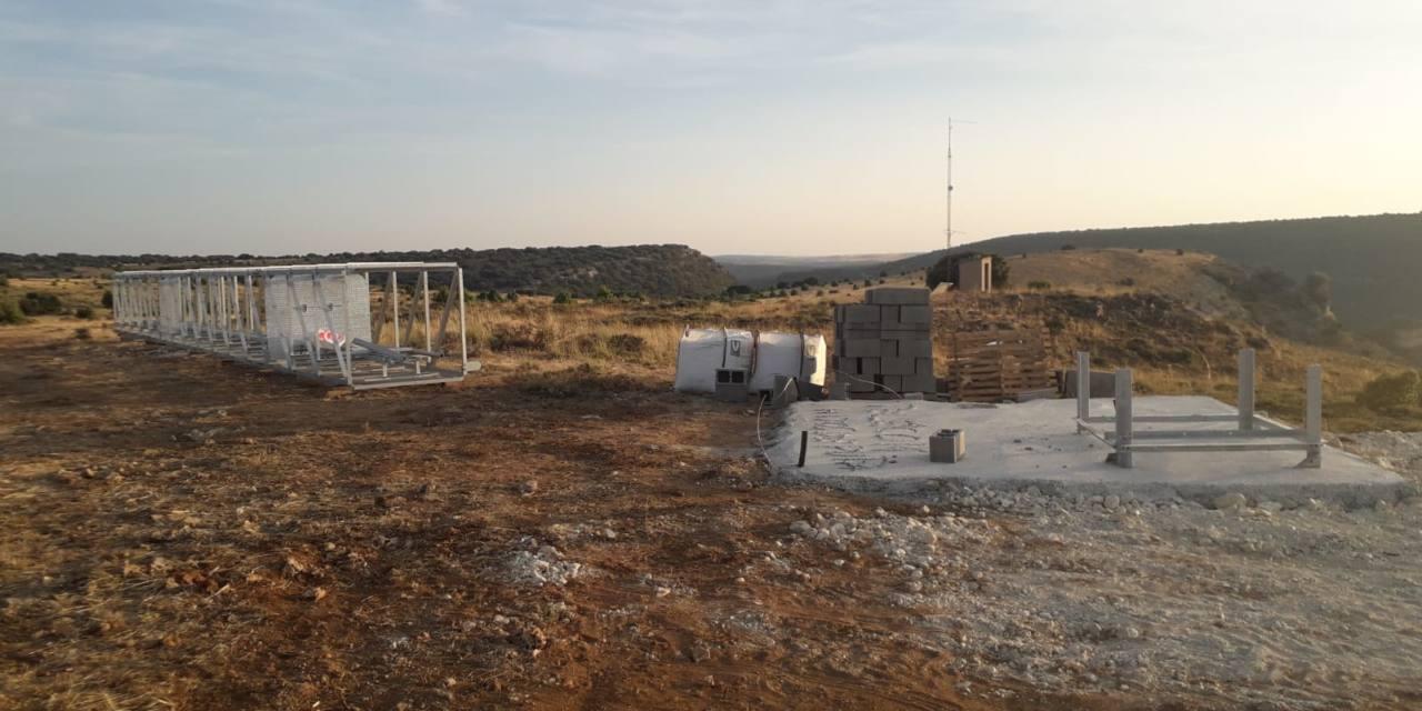 Instalan una antena sin informe ambiental en el cañón del Río Salado