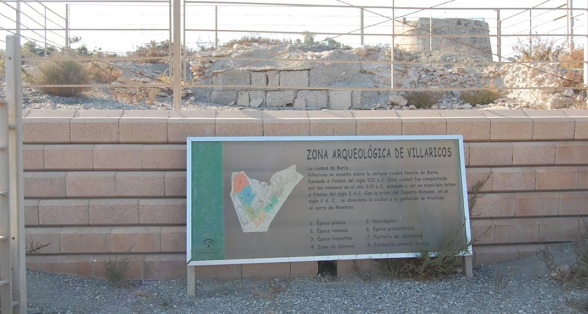 Reclaman la puesta en valor del yacimiento arqueológico de Villaricos