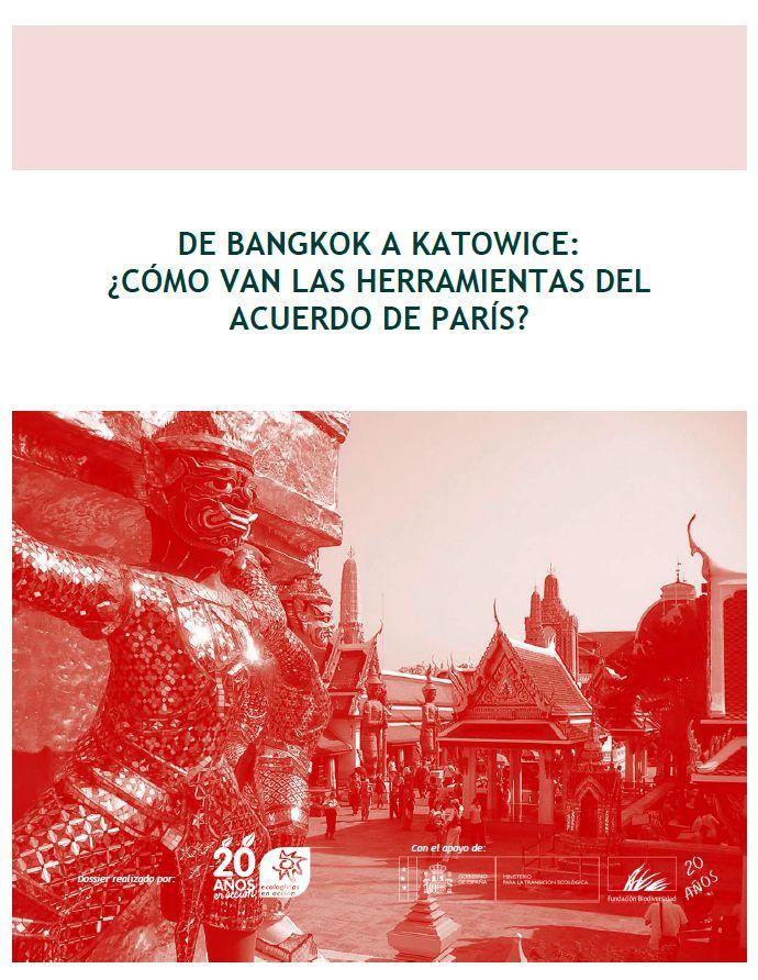 [Informe] De Bangkok a Katowice: ¿cómo van las herramientas del Acuerdo de París?
