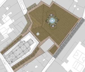 Piden el acta de recepción de las obras de la Plaza del Grano