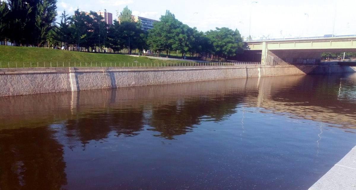 Solicitan al Ayuntamiento de Madrid que no vuelva a cerrar la presa nº 9 del Manzanares