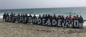 Protesta contra el fondeadero de buques que pretende instalar el Puerto de Algeciras