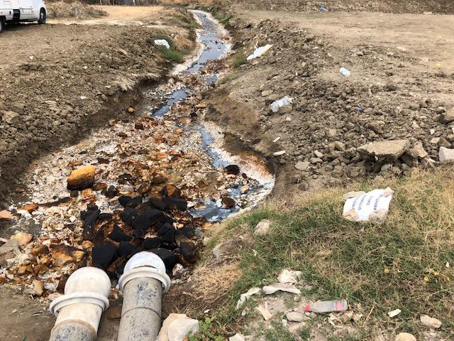 Nueva agresión al problemático rio Cachón en Zahara de los Atunes
