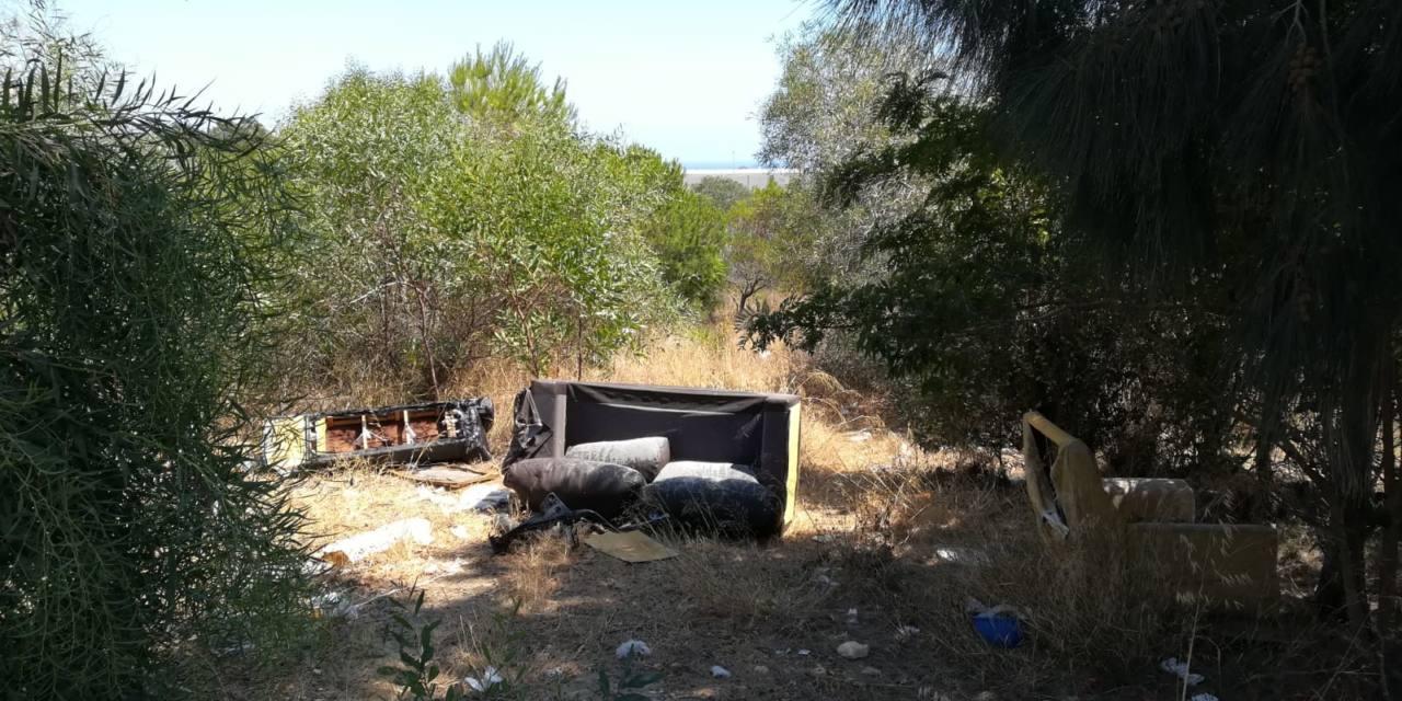 Denuncian la ampliación del vertido perpetuo de desechos en El Zabal Alto