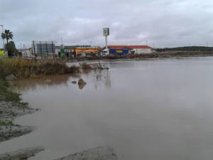 Se propone el tramo urbano del arroyo Saladillo, como potencialmente inundable