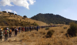Se inicia el deslinde del polémico camino público Benamahoma-Zahara