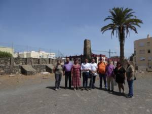 Encuentro, compromiso e interés por el patrimonio cultural de Los Picachos de Telde