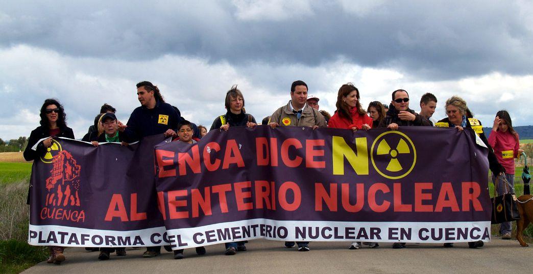 Más de ocho años contra el cementerio nuclear